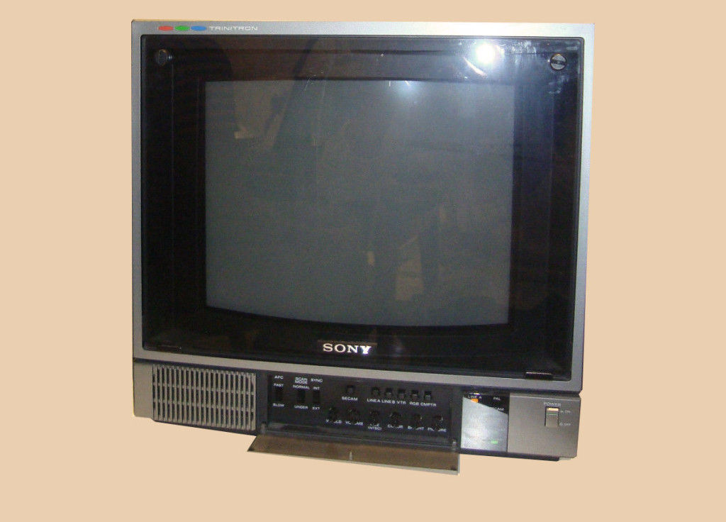 Semiprofessional Trinitron Color Video Monitor fully operable and in fair condition