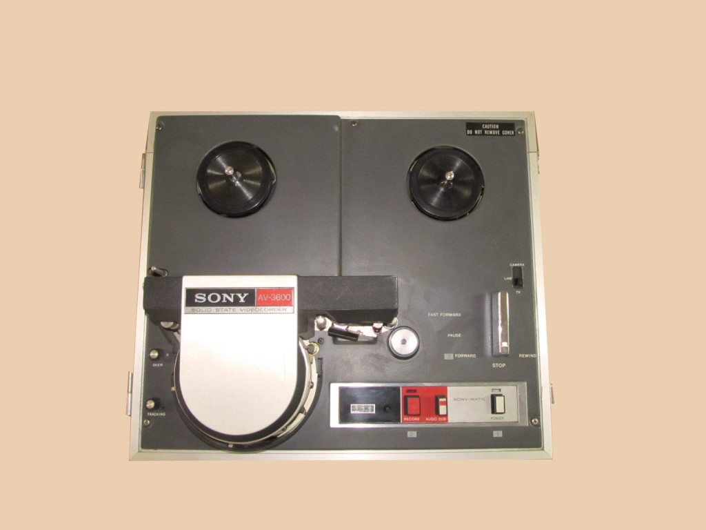 Reel to Reel Videorecorder, fully operable and in good overall condition