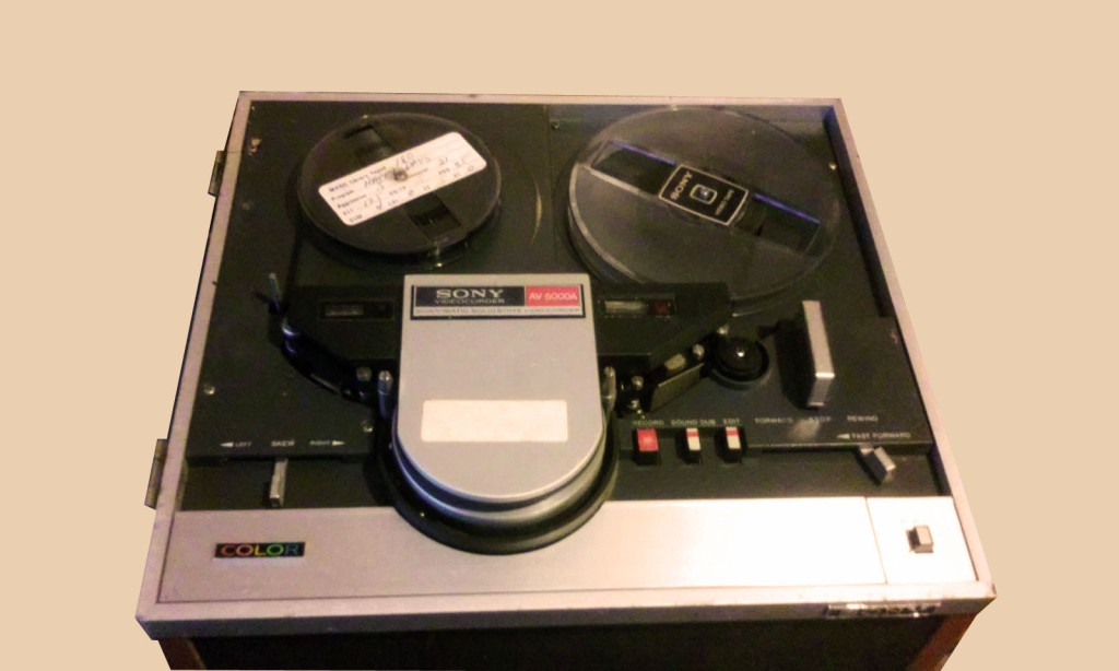 Reel to Reel Videorecorder, partly operable, in good overall condition